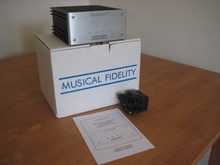 Musical Fidelity XDAC V3 D/A Converter Gene RubIn Audio Since 1979!