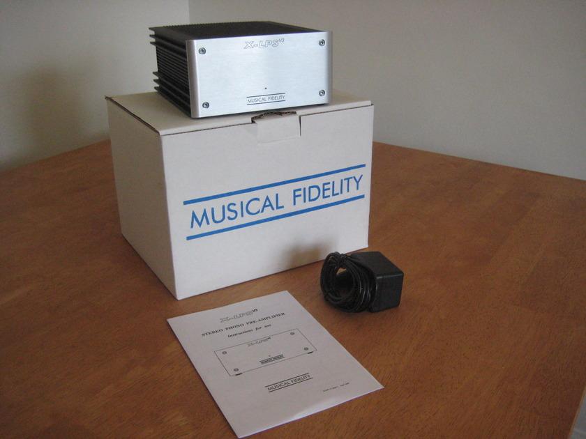 Musical Fidelity XLPS V3 Phono Stage Gene RubIn Audio Since 1979!
