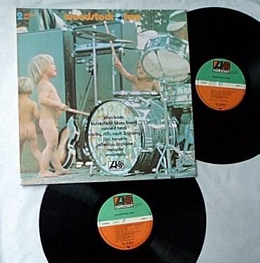 Woodstock Two 2 Lp - set-rare orig 1971 GERMANY Atlantic album