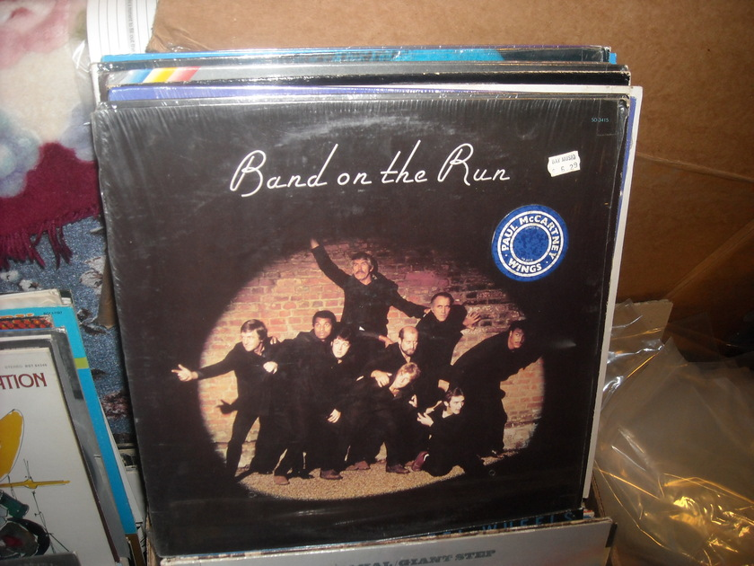Paul McCartney & Wings - Band On The Run EMI LP (c)