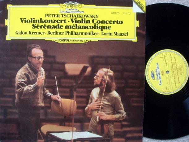 DG Digital / GIDON KREMER-MAAZEL, - Tchaikovsky Violin Concerto, NM!