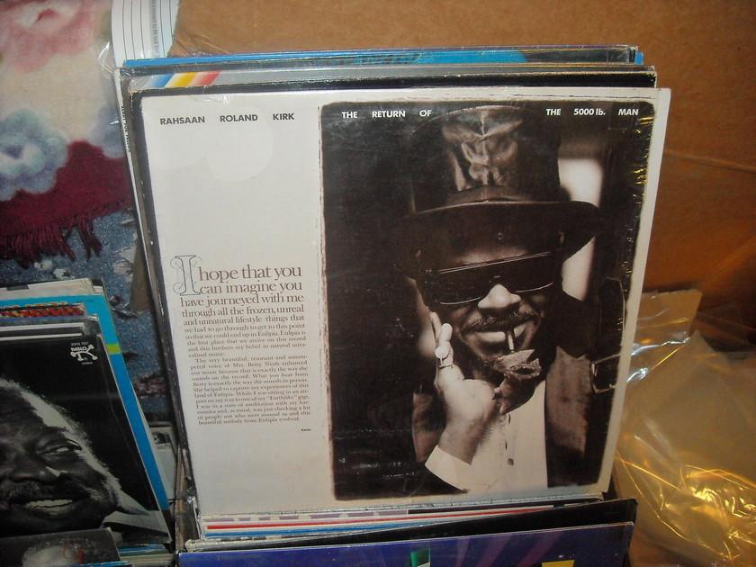 Rahsaan Roland Kirk - Return Of The 5000lb Man Warner Bros.  LP (c)