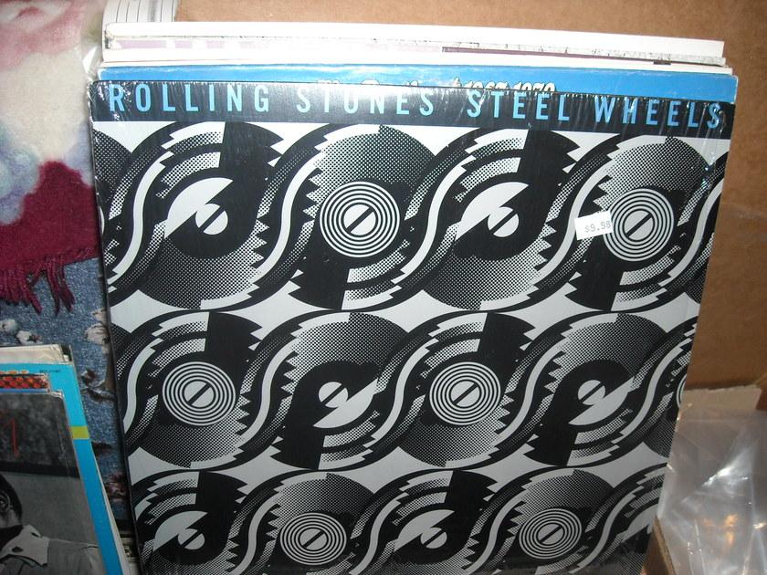 Rolling Stones - Steel Wheels Rolling Stones LP (c)