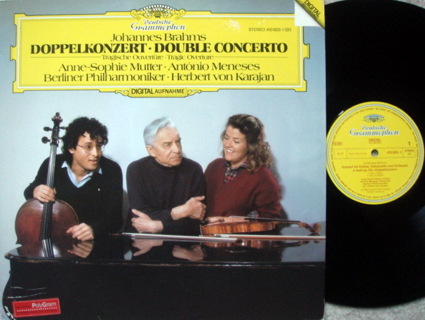 DG Digital / SOPHIE MUTTER-MENESES-KARAJAN, - Brahms Double Concerto, NM!