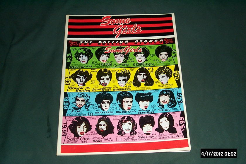 Rolling Stones - Some Girls  Songbook  First Issue 1978