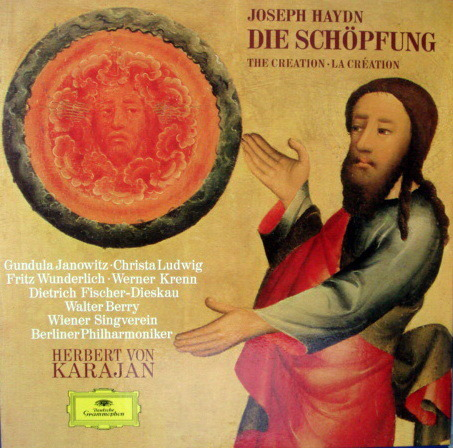 DG / JANOWITZ-LUDWIG-KARAJAN, - Haydn The Creation, NM, 2LP Box Set!