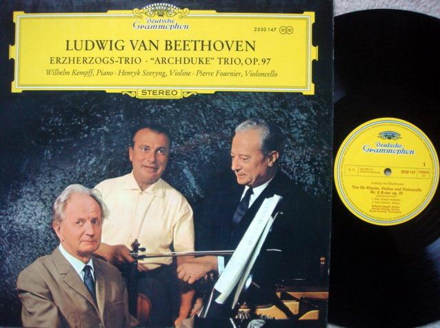 DG / FOURNIER-SZERYNG-KEMPFF, - Beethoven Archduke Trio, NM!