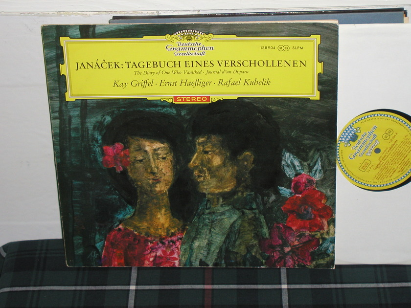 Kubelik/Griffel - Janacek DGG Tulip RED  LP
