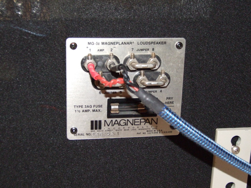 Magnepan MG-Ic Great condition with 6 year old panels
