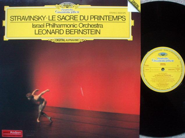 DG Digital / BERNSTEIN-IPO, - Stravinsky The Rite of Spring, NM!