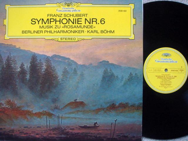 DG / BOHM-BPO, - Schubert  Symphony No.6, NM!