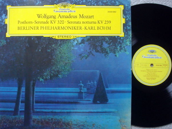 DG / BOHM-BPO, - Mozart Serenade No.6 & 9, NM-!