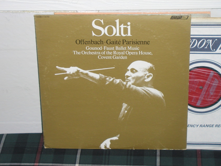Solti/ROHO Covent - Offenbach/Gounod London Jubilee/Holland LP