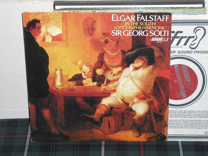 Solti/LPO - Elgar London UK/DECCA CS7193