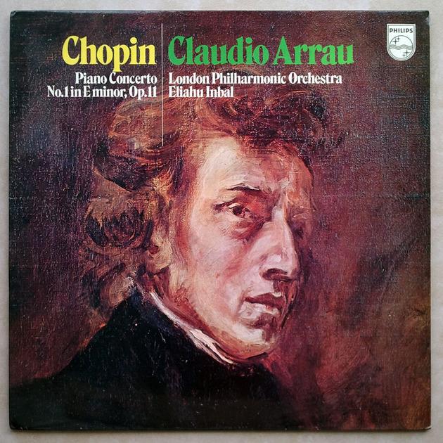 PHILIPS | ARRAU/INBAL/CHOPIN - Piano Concerto No. 1 / NM