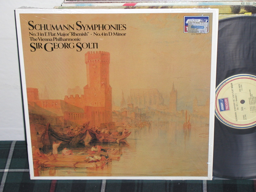 Sir Georg Solti/VPO - Schumann No 3 London STS 15575 LP