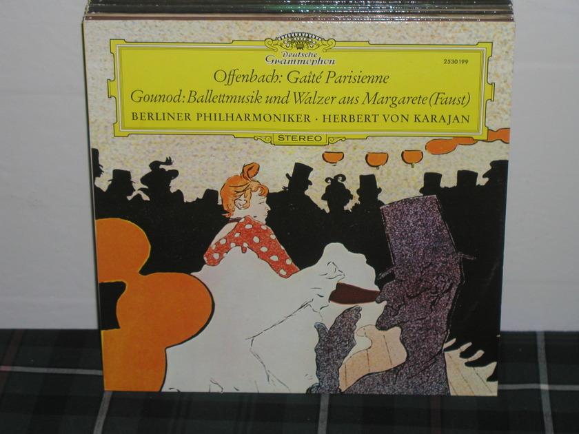 Von Karajan/BPO - Offenbach/Gounod DG German Import  LP