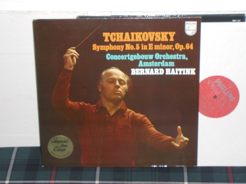 Haitink/COA - Tchaikovsky No.5 Philips Import LP 6500