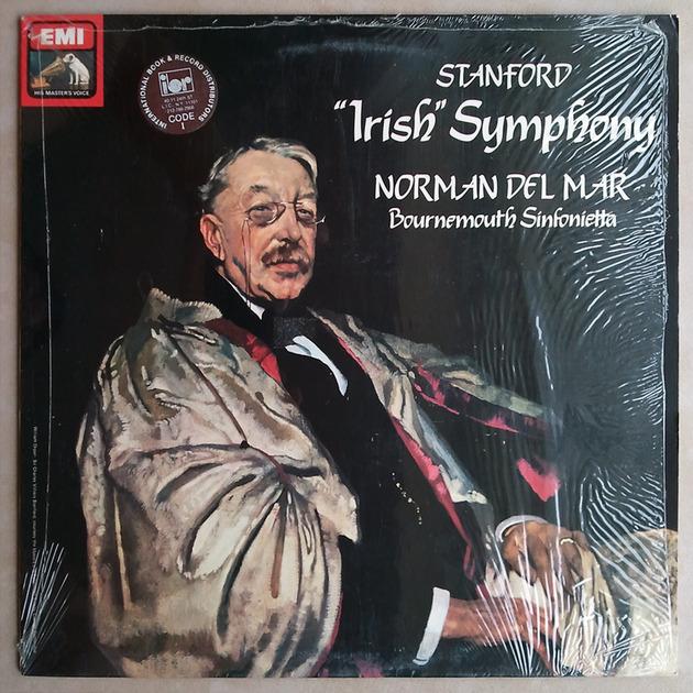 EMI HMV | NORMAN DEL MAR/STANFORD - Irish Symphony / NM