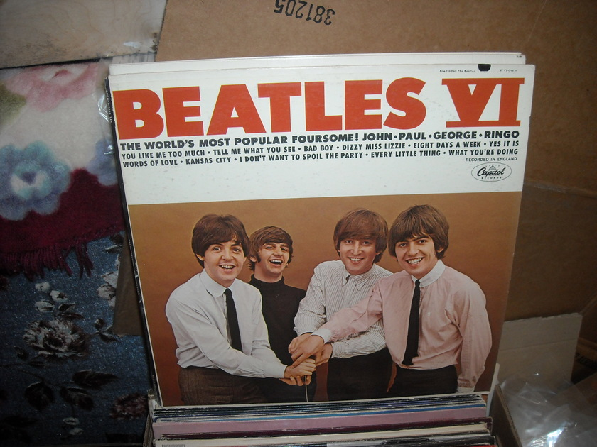 (lec) The Beatles -  Beatles VI Capitol  LP (c)