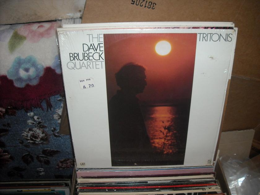 (lec) Dave Brubeck -  Tritonis Concord Jazz  LP (c)