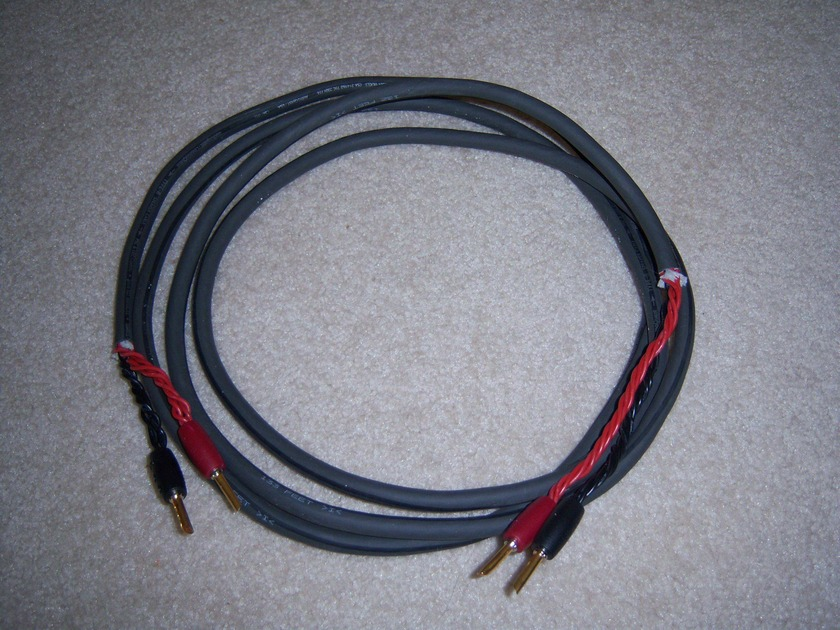 AUDIOQUEST TYPE 8 BULK SPEAKER CABLE    & BANANA TERMINATORS