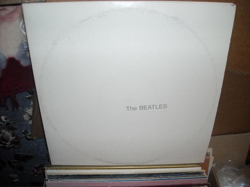 (lec) The Beatles -  White Album Capitol  LP (c)