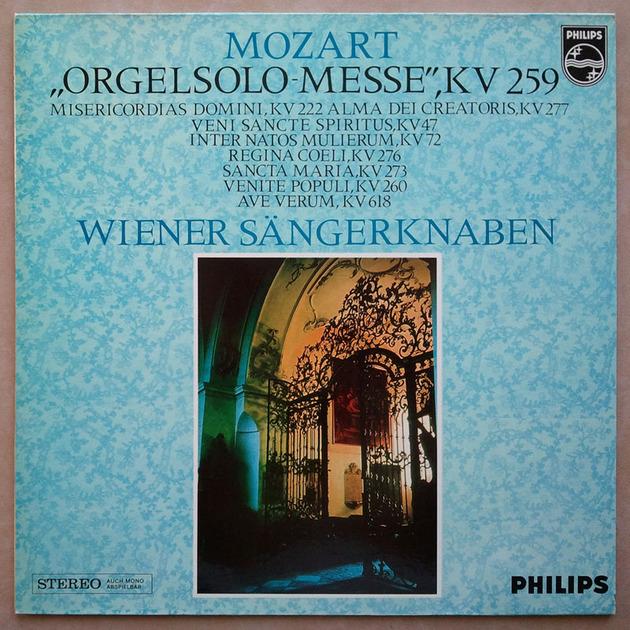 PHILIPS | VIENNA BOYS' CHOIR/MOZART - Organ solo Mass / NM