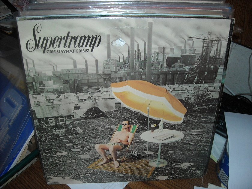 (lec) Supertramp - Crisis? What Crisis? A&M  LP (c)