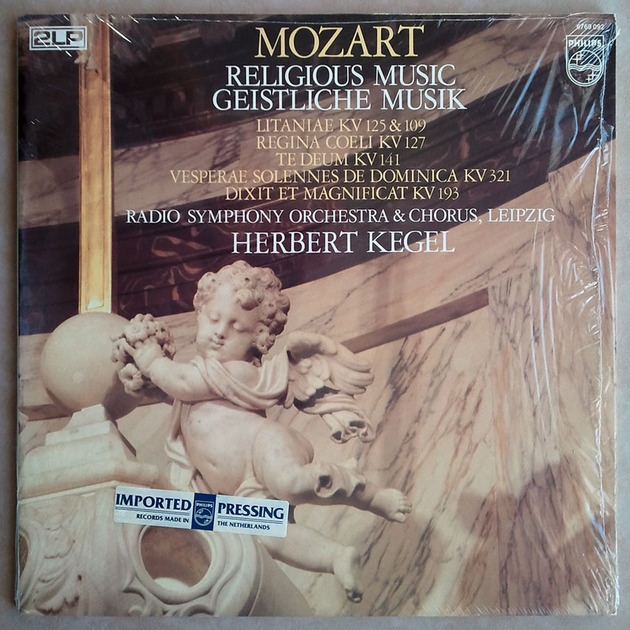 PHILIPS | HERBERT KEGEL/MOZART - Religious Music / 2-LP / NM