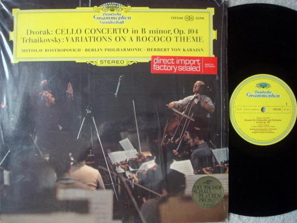 DGG / ROSTROPOVICH-KARAJAN, - Dvorak Cello Concerto, NM!