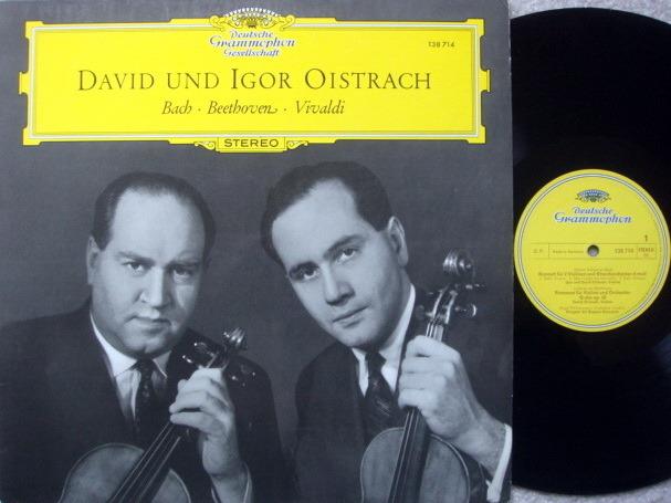 DGG / DAVID & IGOR OISTRAKH, - Bach-Beethoven-Vivaldi, NM!