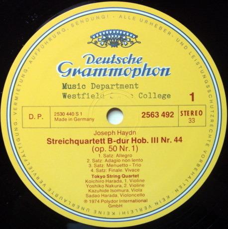 DG / TOKYO QT, - Haydn Prussian String Quartets,  NM, 3LP Box Set!