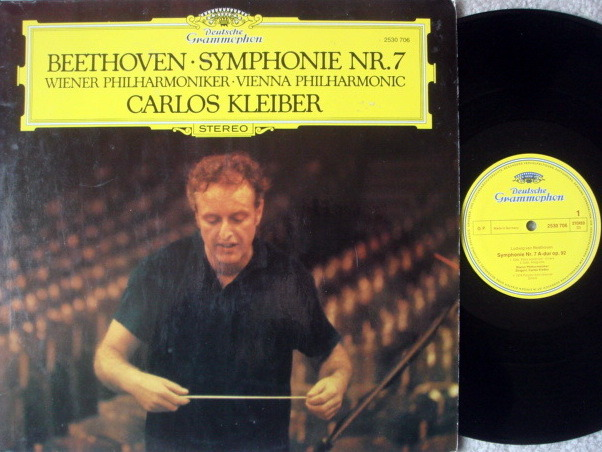 DG / CARLOS KLEIBER, - Beethoven Symphony No.7, NM-VG+!