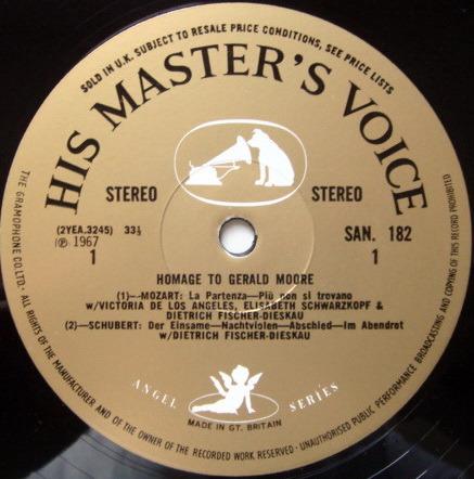 EMI HMV SAN /  - Homage to Gerald Moore, NM, 2LP Box Set!
