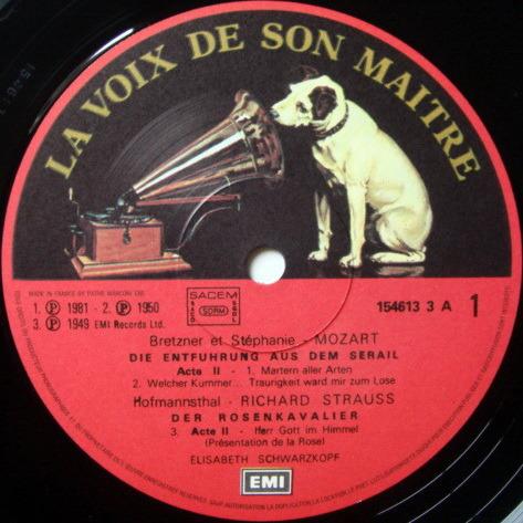 EMI ASD SEMI-CIRCLE / SCHARZKOPF, - Les Introuvables d' Elisabeth Schwarzkopf, NM, 5 LP Box Set!