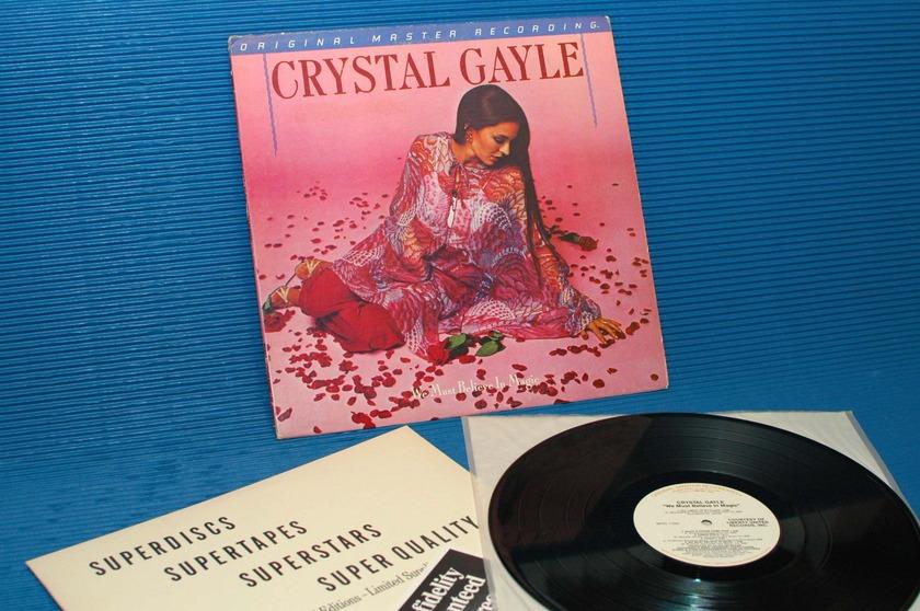 "CRYSTAL GAYLE -  - ""We Must Believe In Magic"" -  Mobile Fidelity/MFSL 1981"
