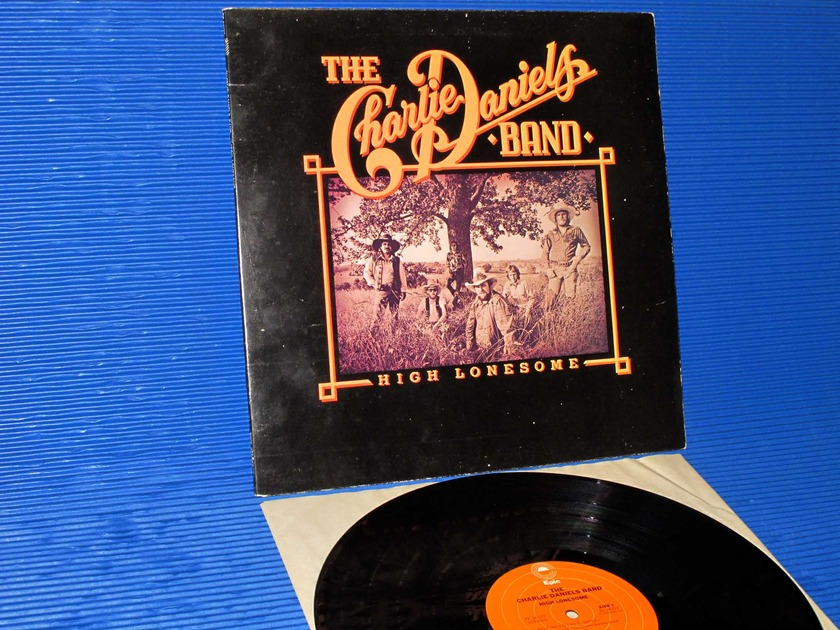 "THE CHARLIE DANIELS BAND -  - ""High Lonesome"" -  Epic 1979"