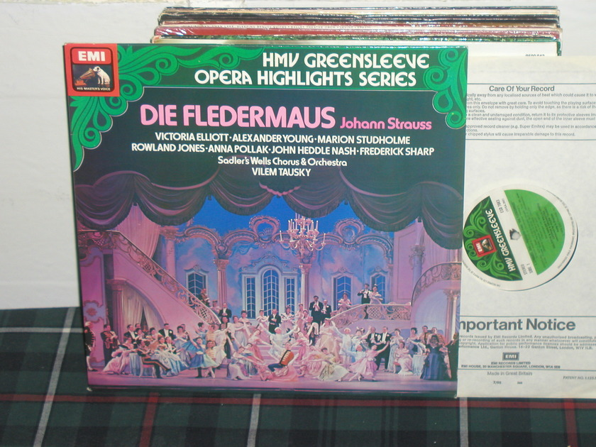 Tausky/Swc&O - J Strauss EMI/Greensleeves esd7083