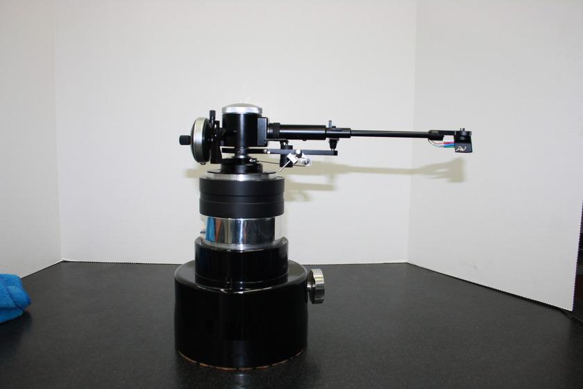 "TTW Audio by LJT Manufacturing VTA Glider Digital Readout for ""on the fly"" SRA/VTA with TTW Graham Phantom Supreme II Custom Arm"