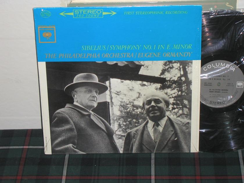 Ormandy/PO - Sibelius Sym No.1 Columbia Black 360 no arrows