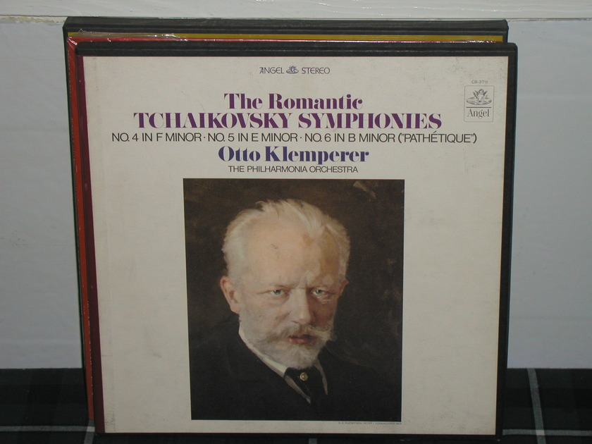 Klemperer/TPO - Tchaikovsky 46 3LP box Blue/Silver labels