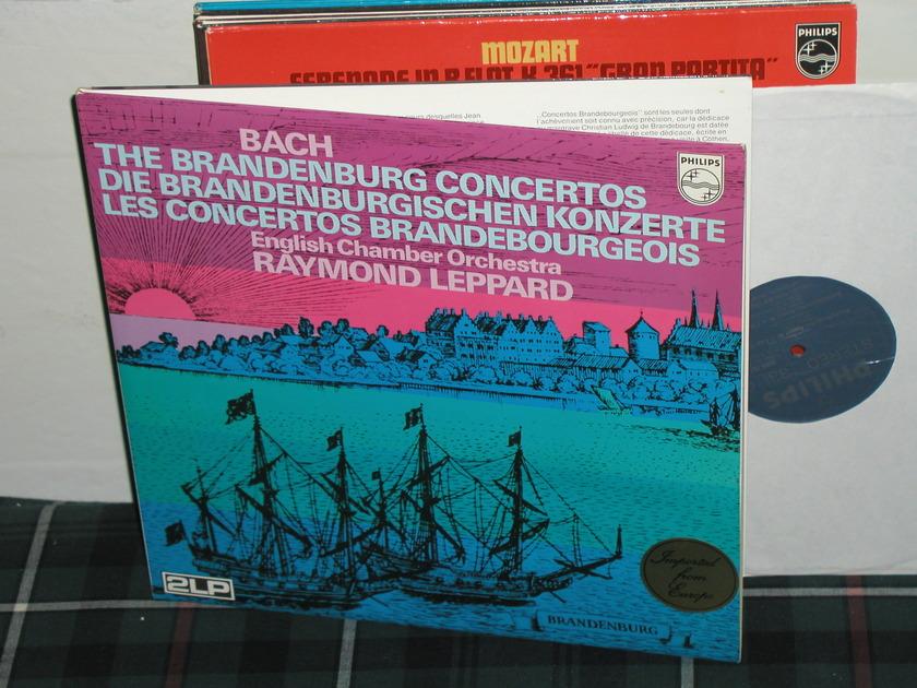 Leppard/ECO - Bach Brandenburg Philips Import  6747 2LP