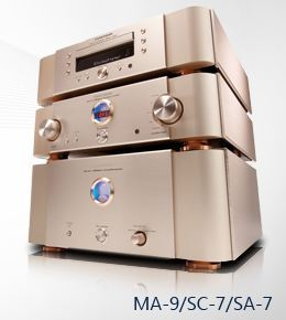 Marantz Reference Monoblock System MA-9S2/SC-7S2/SA-7S1 Stereophile Class A Reference System
