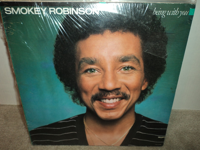 Smokey Robinson (SEALED) - Being With You Brand New cut-out
