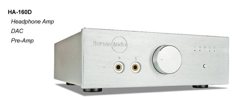 Burson Audio HA-160D DAC / Headphone Amp / Preamp....B- Stock Unit .... Awesome Deal (full warranty) !