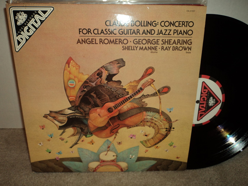 Claude Bolling: Concerto for Classic Guitar and Jazz Piano - Angel Romero, George Shearing, Shelly Manne & Ray Brown NM