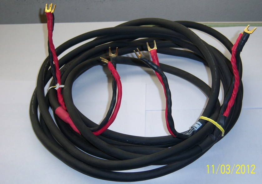 Audioquest Slate  Speaker Cables terminated by Audioadvisor