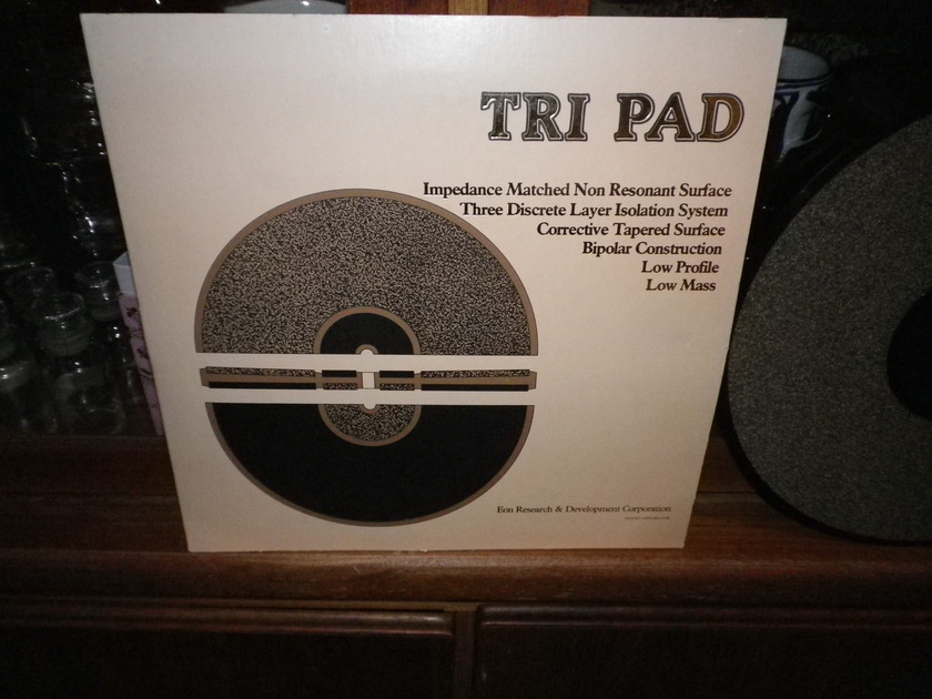 EON RESEARCH& DEVELOPMENT CORP.  TRI PAD,  BEST TURNTABLE MAT