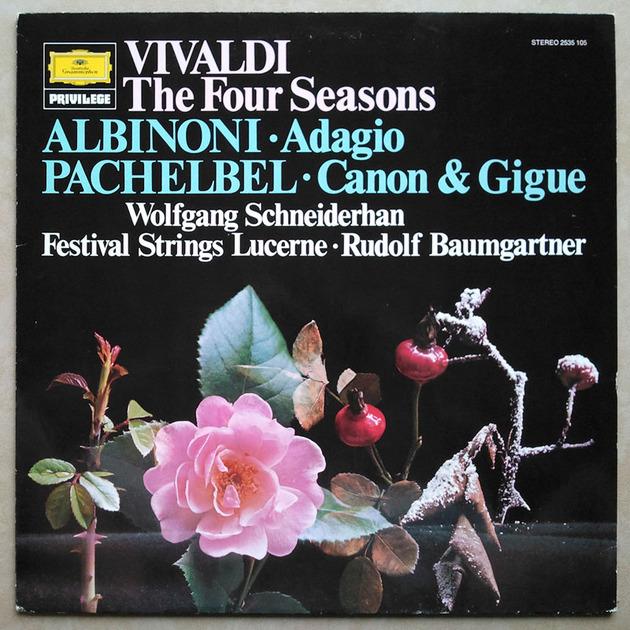 DG | SCHNEIDERHAN/BAUMGARTNER/VIVALDI - The Four Seasons / NM